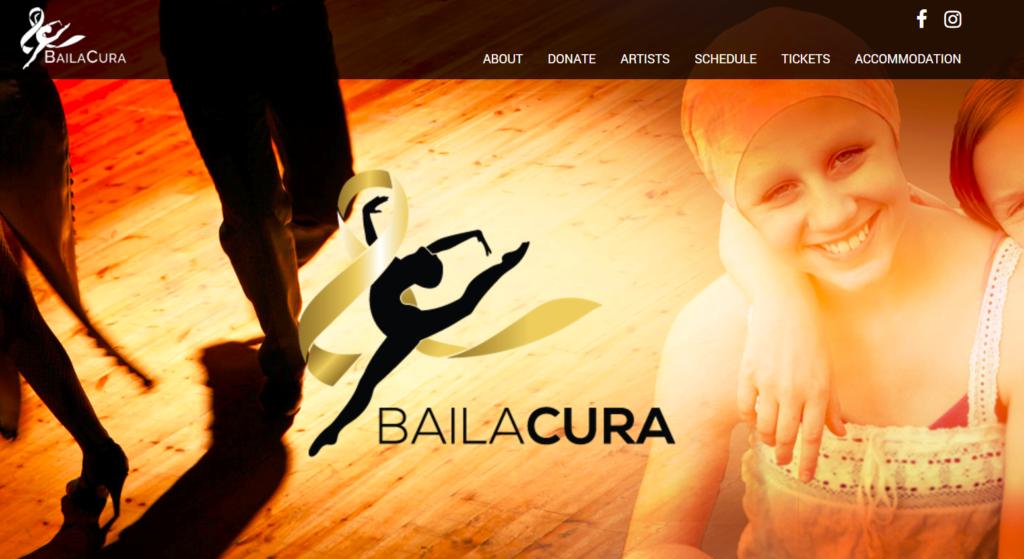 Imagine This: BailaCura Website - Imaginovation