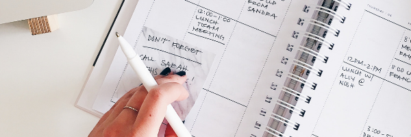 how to delegate scheduling