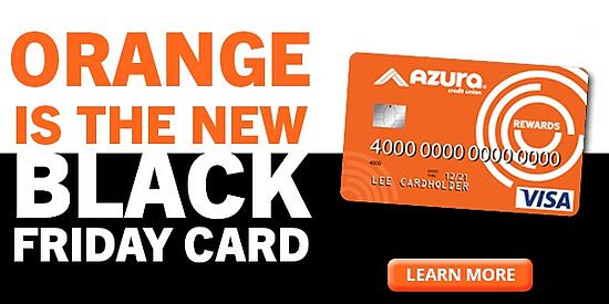 Orange is the New Black Friday Card