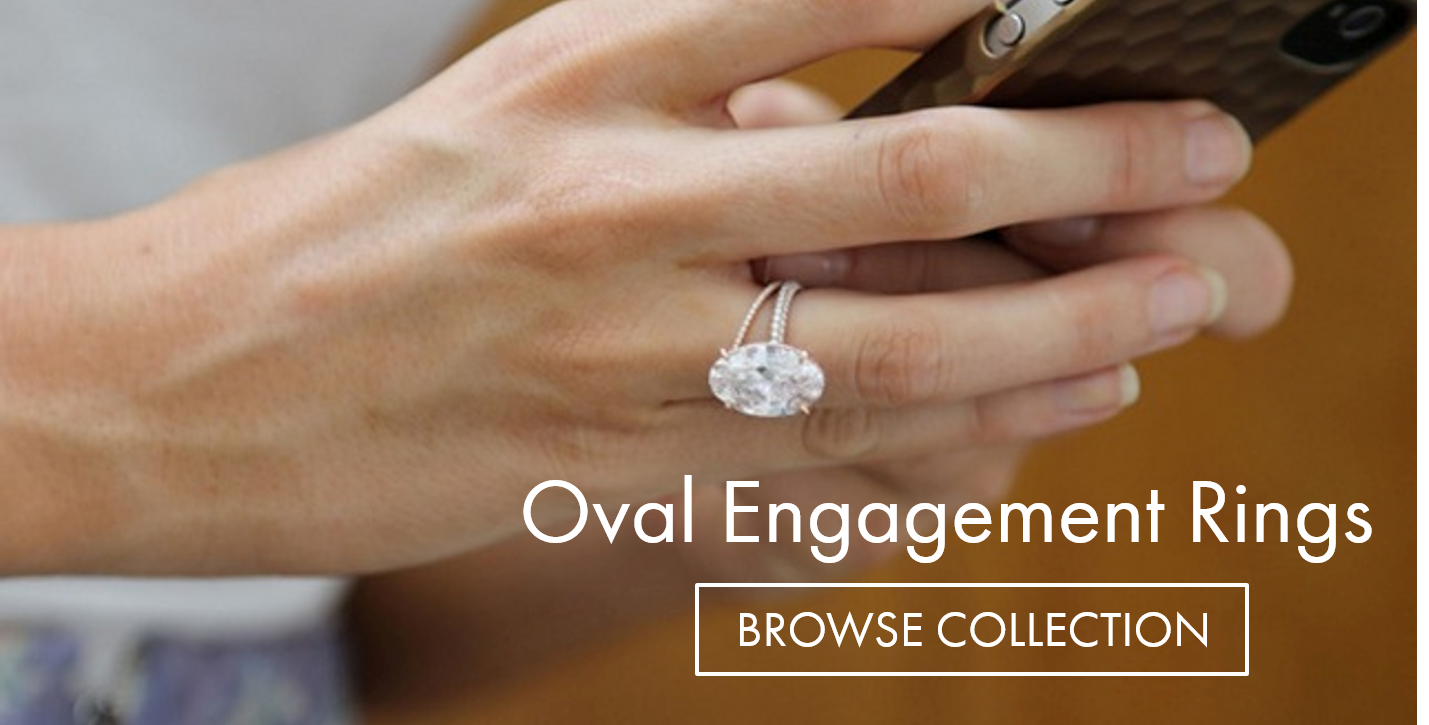 browse oval engagement ring - Oval Wedding Rings