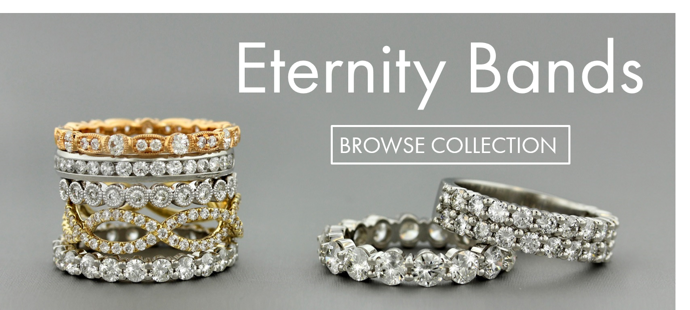 Browse Eternity Band Collection