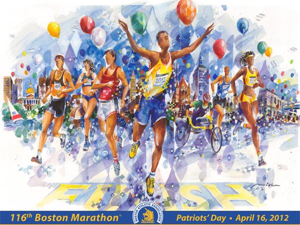 Marathon Poster Ideas Boston Marathon Art Prints