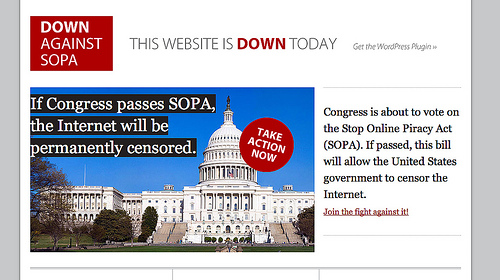 the economic effects of sopa pipa Just two days after broad web protests of the proposed anti-piracy bills known as sopa and pipa giant corporations' economic effect on one of.
