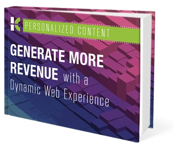 Download Personalized Content: Generate More Revenue with a Dynamic Web Experience ebook