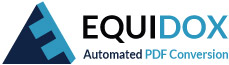 Equidox Automated PDF Conversion
