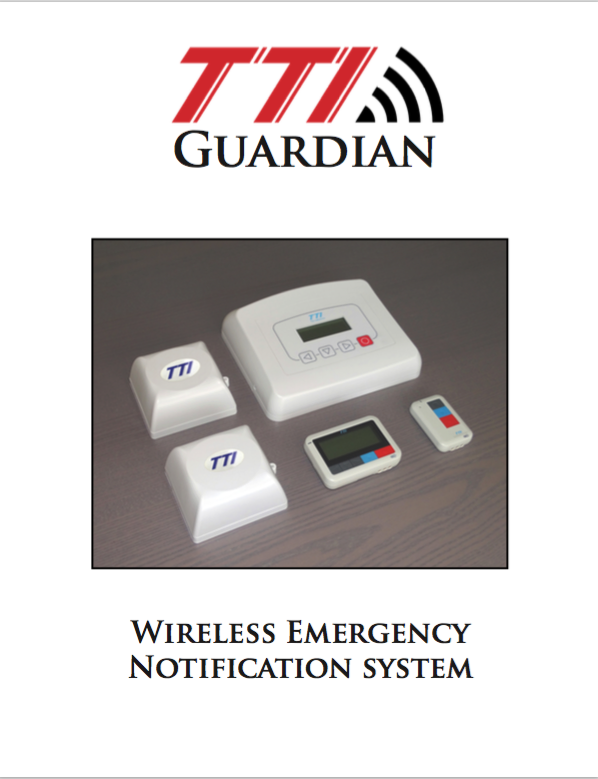 tti guardian lone worker alarm