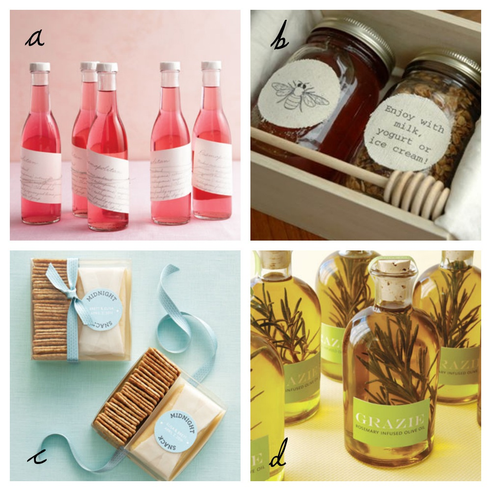 Wedding Gift Etiquette Canada : 51 Fun Wedding Favor Ideas