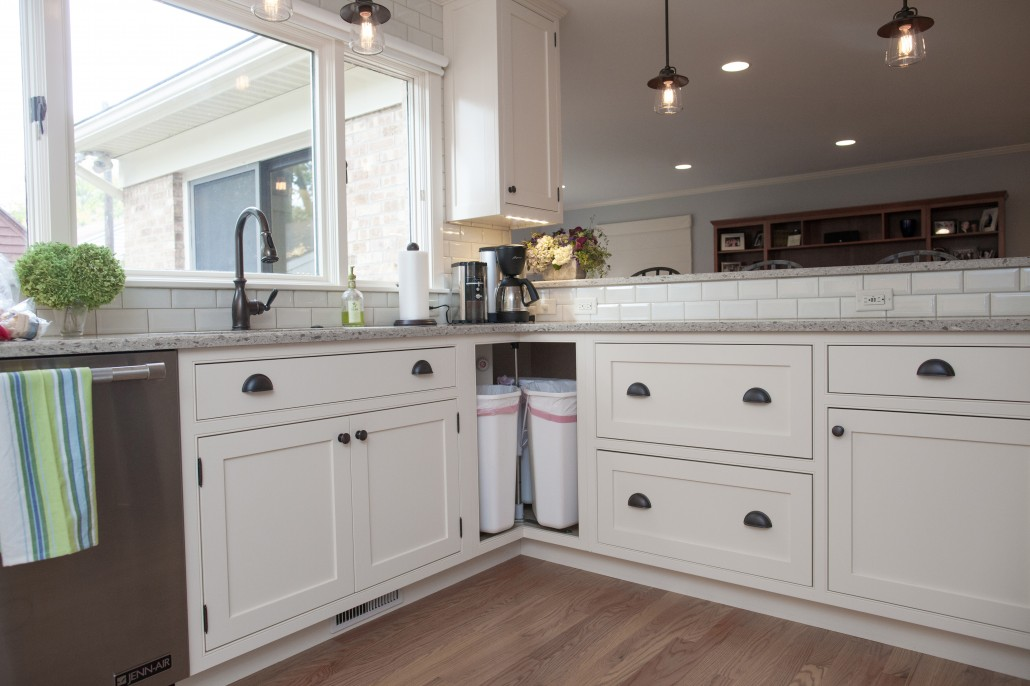 Kitchen Cabinet This Corner Cabinet Features A Lazy Susan Insert ...