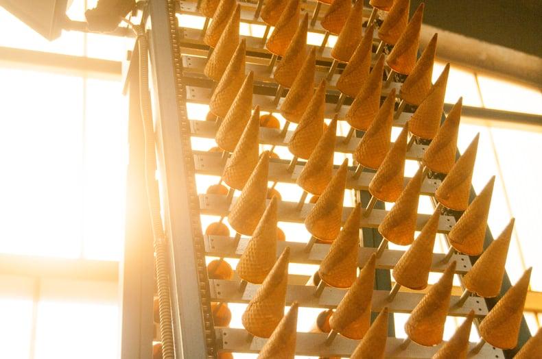 produkcja wafli-produkcja gofrow