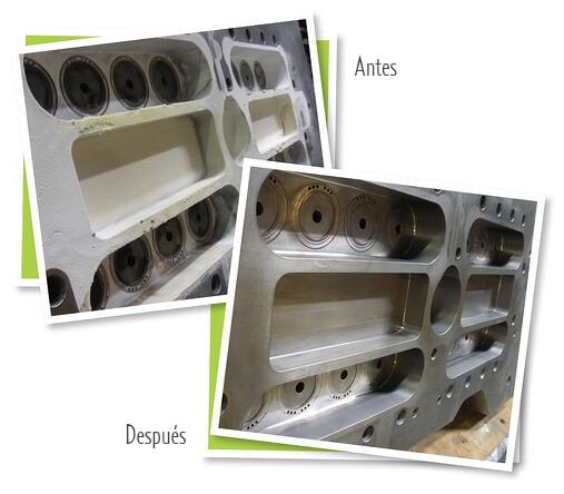 Moldeador de preformas de inyección aumenta los ciclos de producción con hielo seco