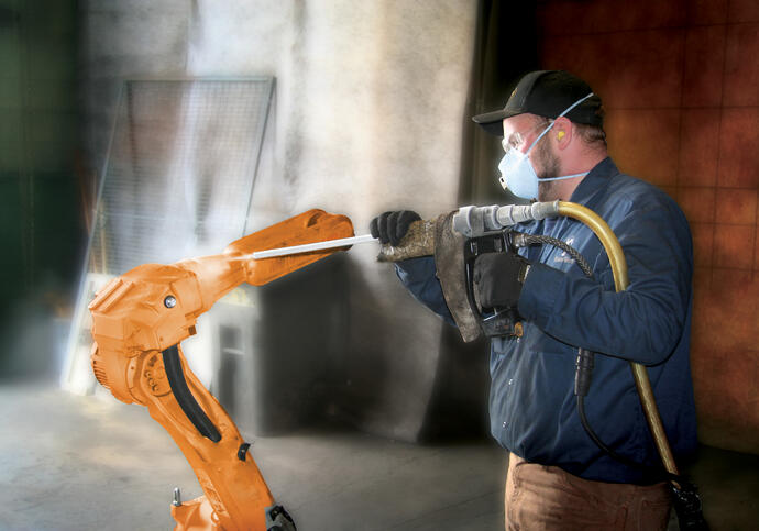 dry ice blasting contract cleaning
