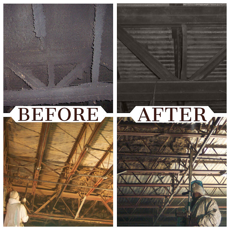 Dry ice blasting is the preferred method for fire restoration contractors