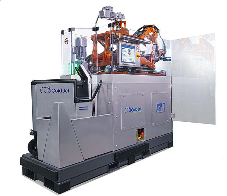 ASP-T – Cold Jet's automatisierte Oberflächenvorbereitungslösung