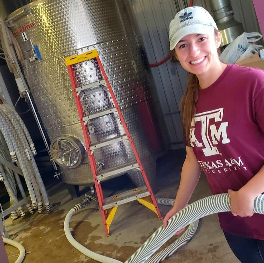 Faces of Harvest Season 2018: Meet Our Winery Intern