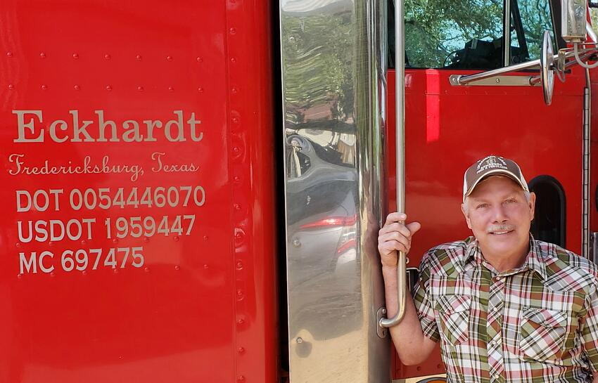 Faces of Harvest Season 2018: Trucking Grapes Across Texas