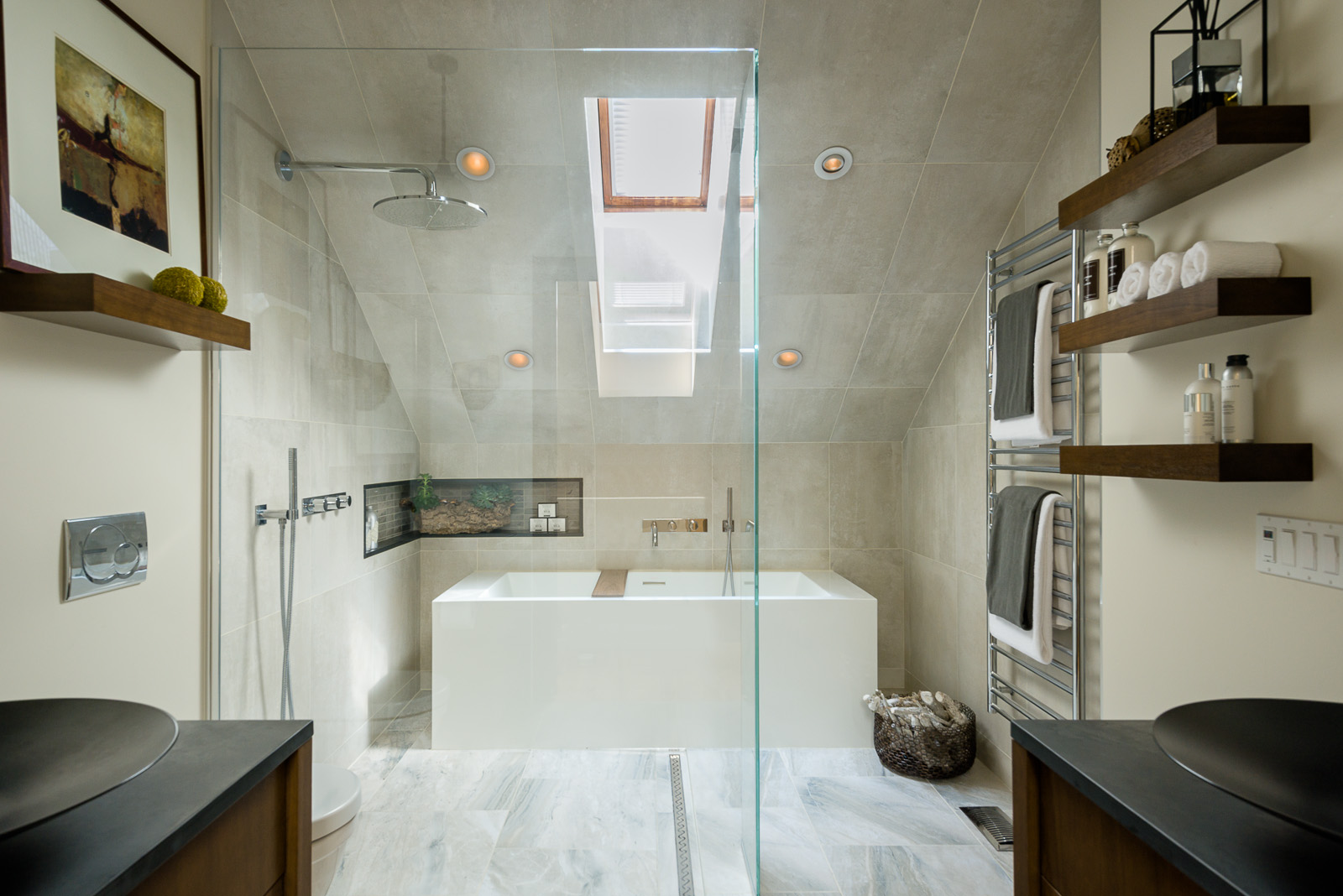 Getting wet with bathroom renovations for Bathroom designs ottawa