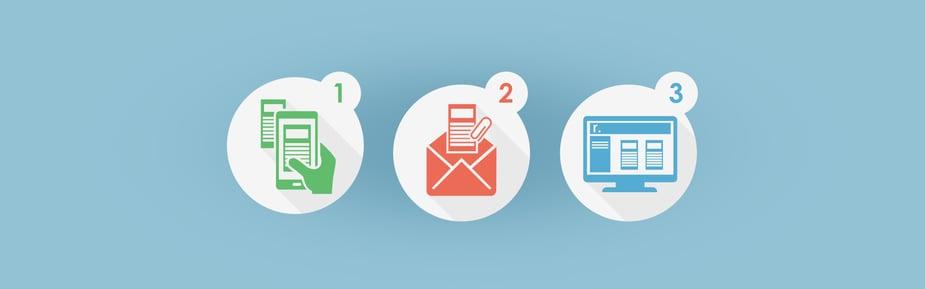 ¡Go! Sube tu archivo solo enviando un correo