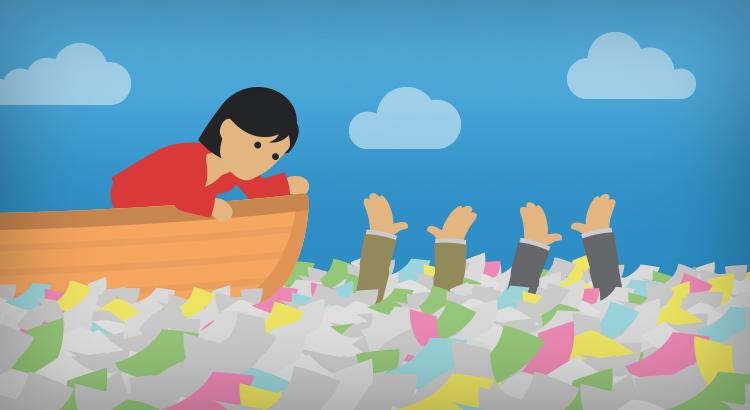 Digitalización: evita que tu empresa se ahogue en papeles y documentos