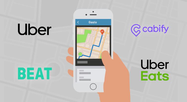 Rinde tus Uber, Cabify, Beat y UberEats de forma rápida y simple!