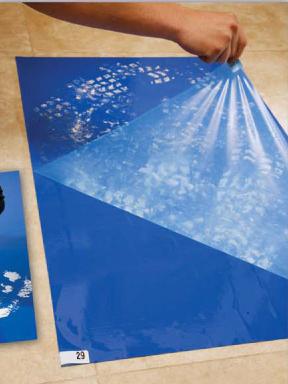 tacky doormats-sticky debris catching mats