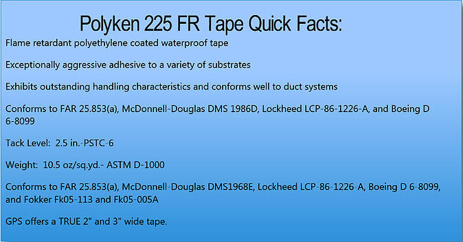 Polyken 225fr Tape Aggressive Waterproof