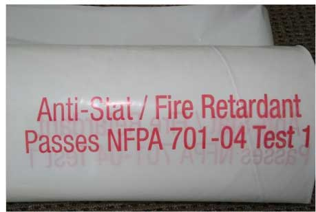 Anti-static Fire Retardant Plastic