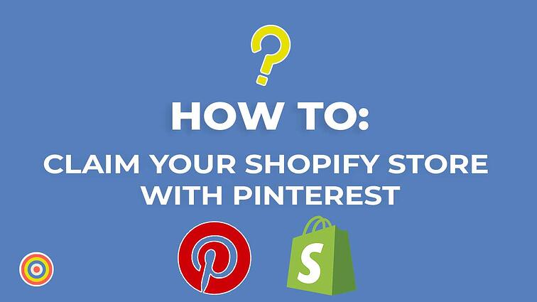 How to Claim your Shopify Store with Pinterest
