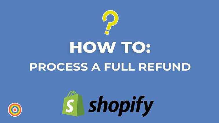 How To Process A Full Refund on Shopify