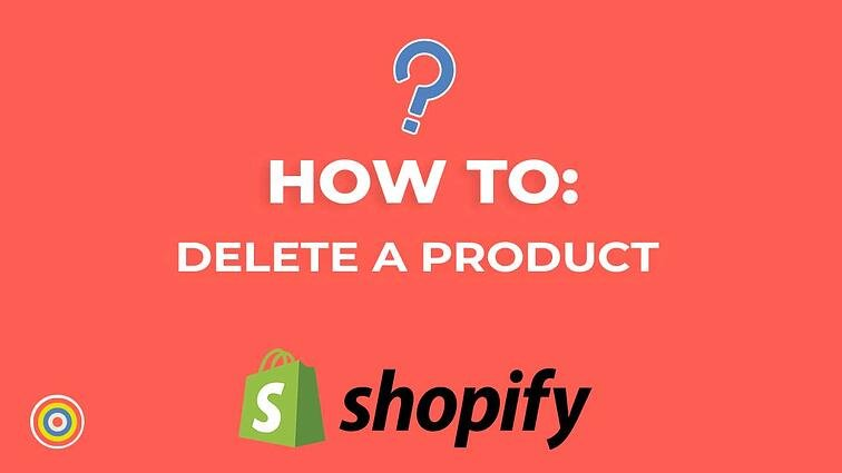 How to Delete a Product on Shopify