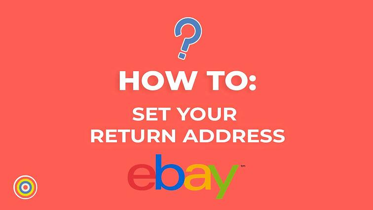How to Set your Return Address on eBay