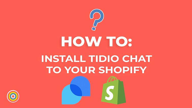 How to Install Tidio Chat on Your Shopify Website