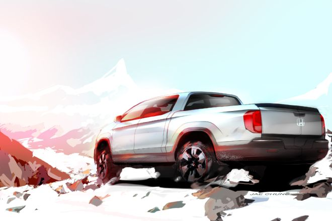 next-gen-honda-ridgeline-rear-side-view-teaser