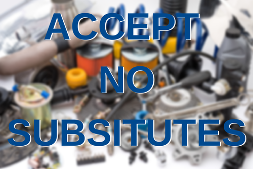 ACCEPT NO_SUBSITUTES
