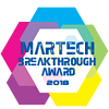 Martech Breakthrough Award 2018