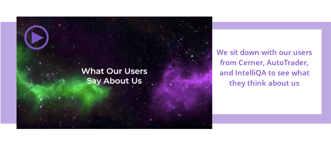 What our users say about us video