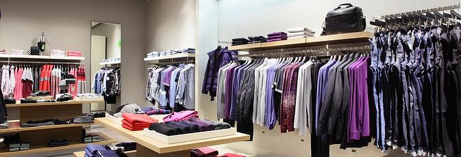How are department stores improving the garment supply chain process?