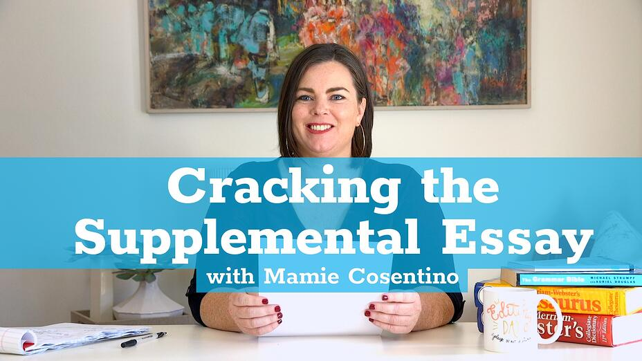Cracking the Supplemental Essay