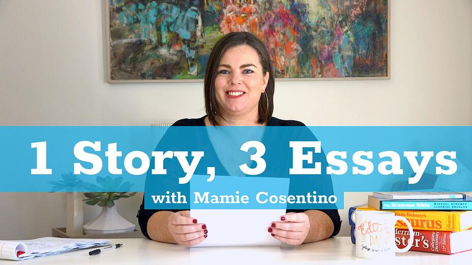 One Story Three Essays
