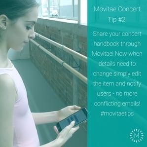 Concert Tip #2