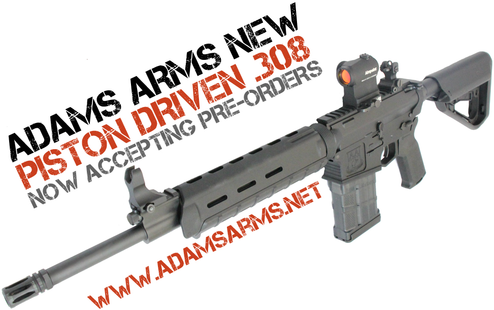 NEW Adam Arms Small Frame  308