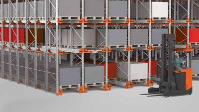 Toyota Material Handlin conçoit et met en place la logistique et le stockage des entrepôts industriels