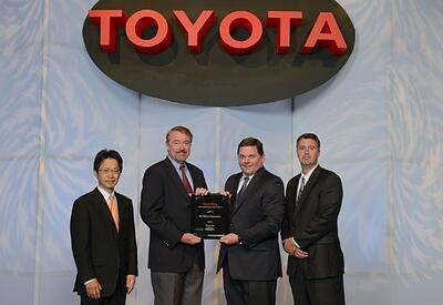Orr Safety Corporation Toyota Award