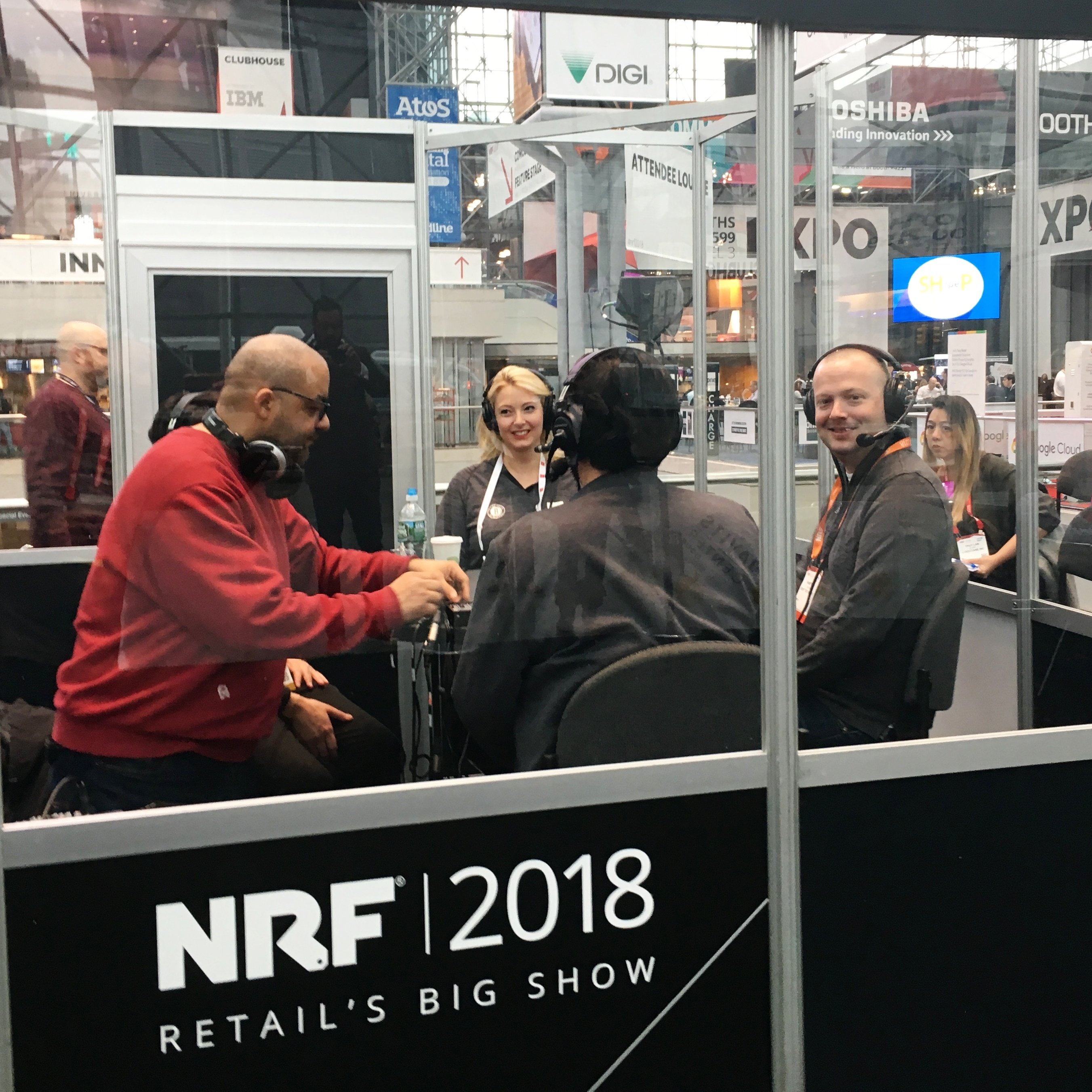Hampton Catlin, Rent the Runway's senior director of engineering, participated in several NRF podcasts talking about the transformation of the in-store experience with technology.