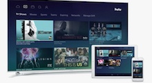 HULU interface on multiple devices