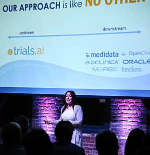 Trials.ai Presents at Nex Cubed Winter Showcase