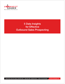 5 Data Insights for Effective  Outbound Sales Prospecting