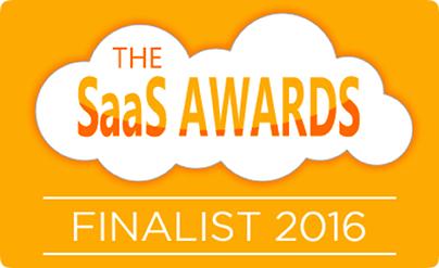 SaaS Shortlist Logo 2016 Flat