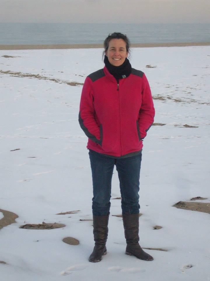 Maureen Hearn at Rehobeth Beach