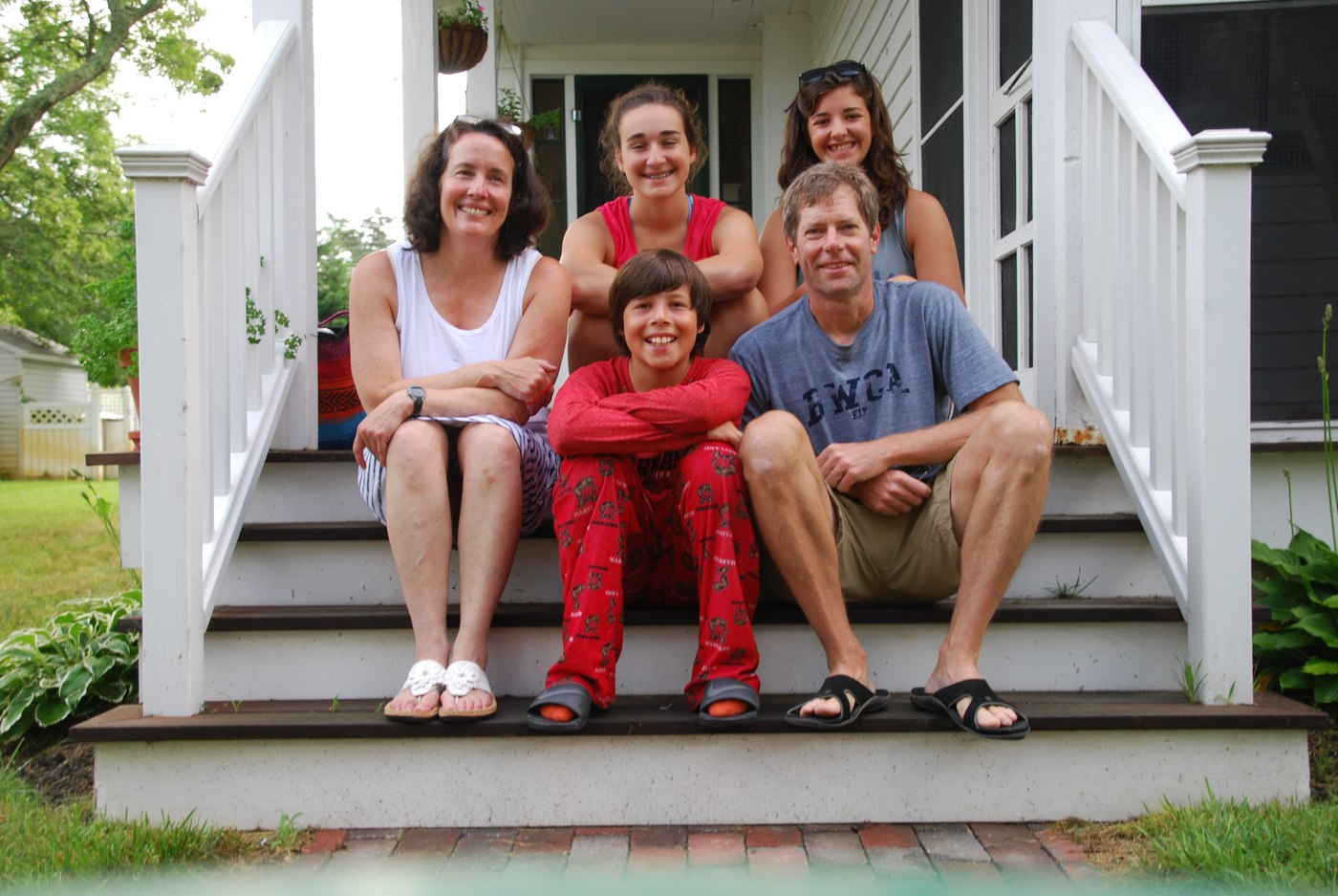 Maureen Hearn and family