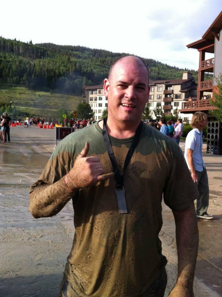 Jesse Wilkins, AIIM's own mudder